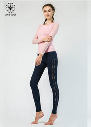 【K968】時尚燒花工藝設計,時尚美觀兼透氣排汗,時尚功能性秉持