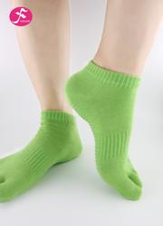 一梵新品秋冬保暖瑜伽袜 绿色