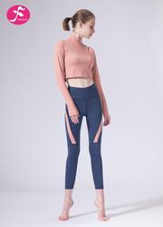【J1155】一梵秋冬新款時尚中領小腰精拼接提臀顯瘦套裝
