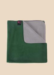 新品綠色瑜伽毛毯墊艾揚格輔具不掉毛休息術專用瑜伽毯雙規格