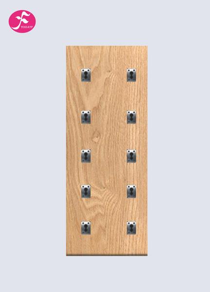 瑜伽墙(板材+合金挂板)