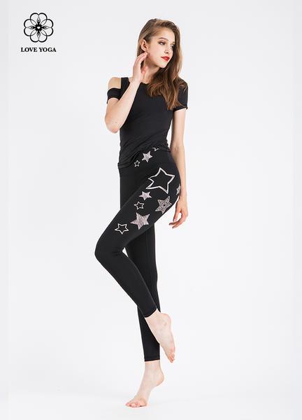 LOVEYOGA 新款印花瑜伽裤 H5226
