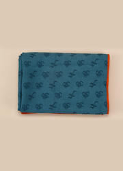 OM系列PVC防滑鋪巾 孔雀藍 183*63CM