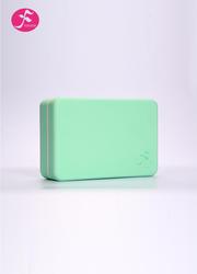 一梵高密度瑜伽砖(柠檬绿)23*15*7.5CM
