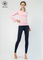 特價長袖    【Y814】簡潔寬松舞韻袖口上衣 粉色