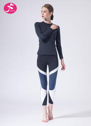 【J1150】秋冬新款专?#30331;?#36816;动时尚动感瑜伽套装