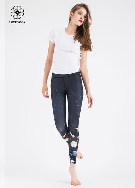 LOVEYOGA 新款印花瑜伽裤 H5229