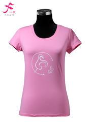 10号   粉色       一梵短袖印花纯棉T恤