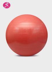 一梵瑜伽塑身球磨砂表皮 健身球 红色