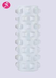一梵辅助工具 小尺寸 瑜伽棒10*30CM 乳白色