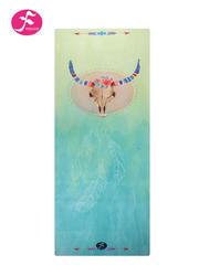 一梵新款1.5mm民族风情印花垫 神圣牛头