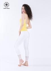 高腰显瘦显网纱修腿形—白色款(K878)