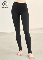 【KZ006】踩脚裸感裤 黑色