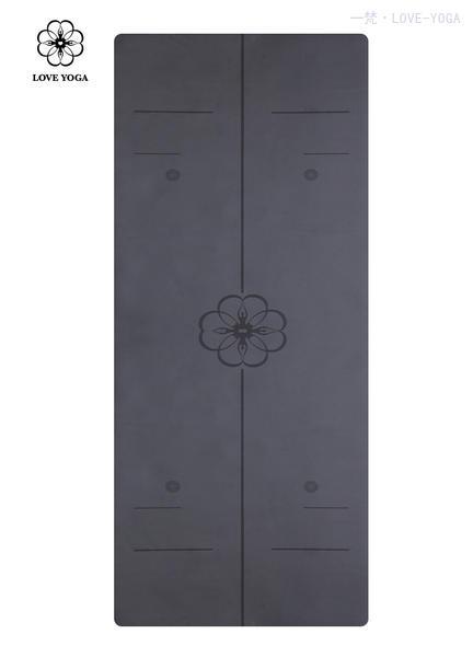正位线天然橡胶PU垫 0.25cm  黑色