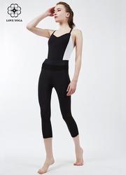 Y728新品时尚黑白连体服