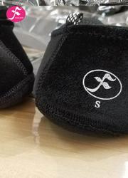 一梵硅膠防滑瑜伽鞋 黑色