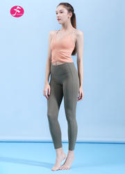 【J1173】交織美背一梵新款套裝
